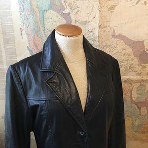 100% Leather Coat